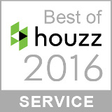 2016 Houzz Service Award Badge